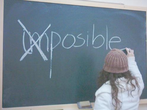im-posible